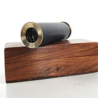 Handheld Telescope in wood box Hancrafted Telescopes