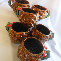 Unique Pine Cone Cups or Mugs for Holiday Cheer