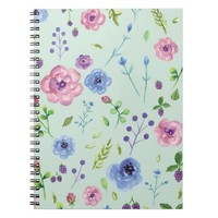 Romantic Florals Note Book