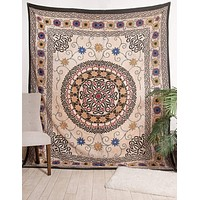 Celtic Sunflower Tapestry