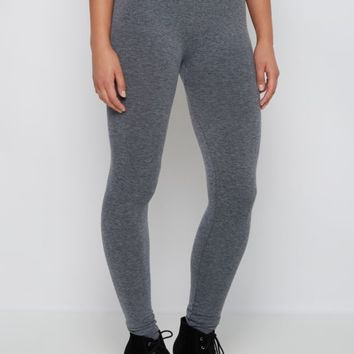 Charcoal Slimming French Terry Legging | Leggings | rue21