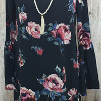 Flower Power Floral Dress