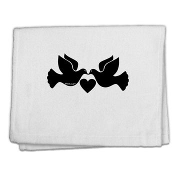 """Two Turtle Doves 11""""x18"""" Dish Fingertip Towel"""