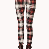 Standout Plaid Leggings