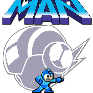 Personalized Video Game Megaman NAME Shirt T-shirt Great Gifts #2