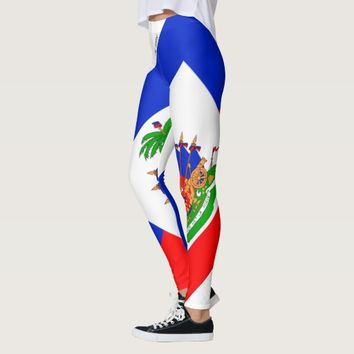 HAITI LEGGINGS FLAG HAVIC ACD