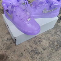 Bling Nike Air Force Ones