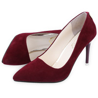 Sexy Pointed Toe Red Bottom High Thin Heels Wedding Shoes For Ladies Brand
