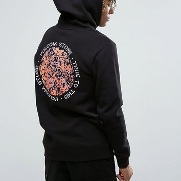 Volcom Reload Hoodie With Back Print at asos.com