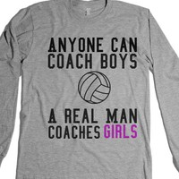 Volleyball Girls-Unisex Heather Grey T-Shirt