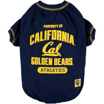 PEAP7N7 California Berkeley Pet Tee Shirt
