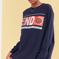 BDG End Long-Sleeve Tee | Urban Outfitters