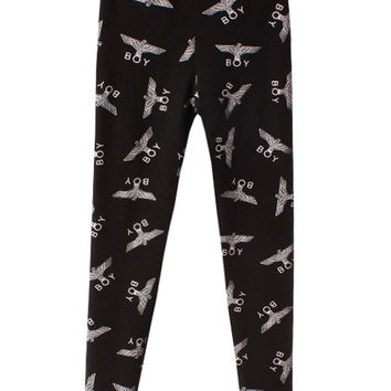 Eagle Boy Print Leggings
