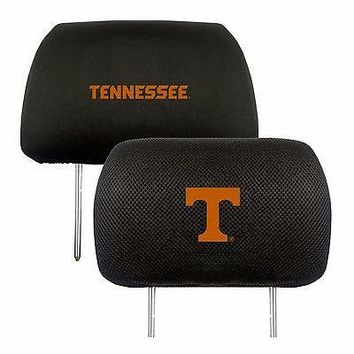 Tennessee Volunteers 2-Pack Auto Car Truck Embroidered Headrest Covers
