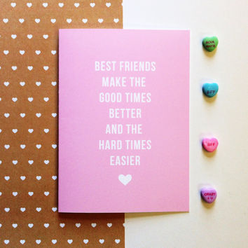 Best Friend Valentines Day Card – startupcorner.co
