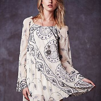 Free People Womens My Beloved Georgette Dress