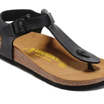 Men's and Women's BIRKENSTOCK sandals Kairo Oiled Leather 632632288-016