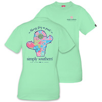 """*Closeout* Simply Southern """"Point"""" Short Sleeve Tee"""