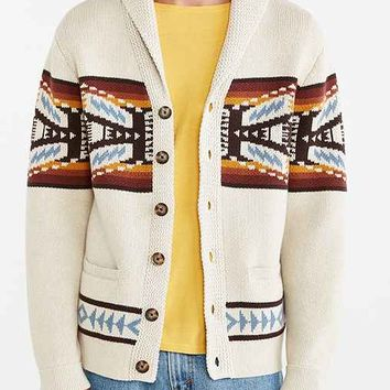 Pendleton Button Shawl Cardigan