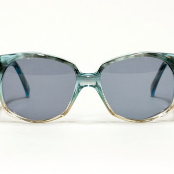 1970s Givenchy vintage sunglasses model Cloe - oversized sunglasses  - designer shades - new unworn - rare  vintage shades