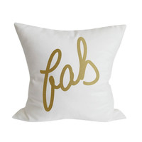 FAB Pillow Cover