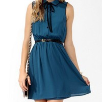Flared Shirtdress w/ Belt
