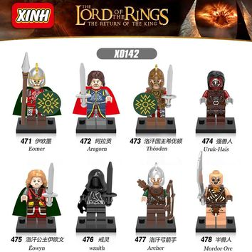 Single Legoing The Hobbit Lord Of The Rings DIY Tauriel Aragorn II Models & Building Blocks Collection Toys For Children Bloques