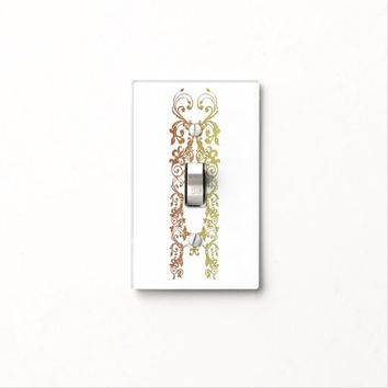 Design 3 light switch cover