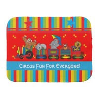 Circus fun for Everyone Burp Cloth