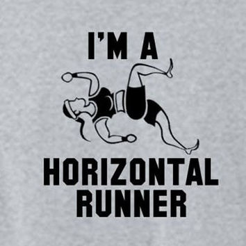 I'm a Horizontal Runner Funny Pitch Perfect by DecalForYourWall