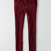 AEO Sateen X4 Jegging, Wine