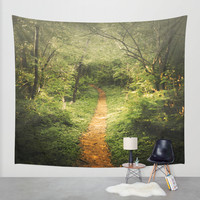 The Beckoning Wall Tapestry by Jenndalyn