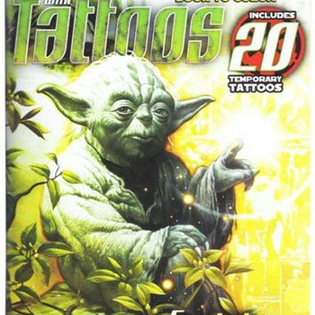 DCCKU7Q Star Wars Symbols Of Power Book To Color With Tattoos