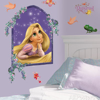 Tangled - Rapunzel Peel & Stick Giant Wall Decal
