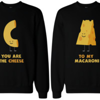 Mac and Cheese BFF Sweatshirts