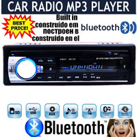 new 12V Car tuner Stereo bluetooth FM Radio MP3 Audio Player Phone USB/SD MMC Port Car radio bluetooth tuner In-Dash 1 DIN