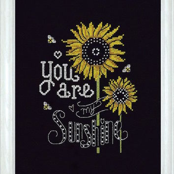 Design Works Sunshine Chalkboard - Counted Cross Stitch Kit - TheAngelsNook.com