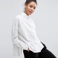 Monki Cut About Shirt at asos.com