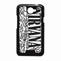 Nirvana all member and song titles collage c373077d-5482-4bcb-883c-21499442c07a FOR HTC One X CASE *RA*