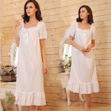 Cosy Cotton Nightgown