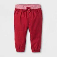 Baby Boys' Jogger Pants - Cat & Jack™ Red