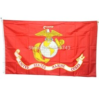 American Army USA United States Marine Corps-USMC Polyster Flag Banners 3*5 Feet With Brass Grommets