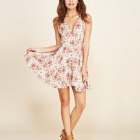 Mimi Chica™ Femme Floral Dress | Wet Seal