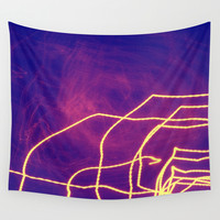 Electric Wall Tapestry by Yoshigirl