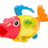 Swimming Bath Toy Float and Play Bubbles Bath Toy 18cm?9.5cm Fish