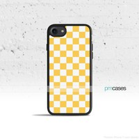 Checkerboard Yellow Phone Case Cover for Apple iPhone iPod Samsung Galaxy S & Note