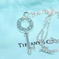 Tiffany & Co. Classic Chinese knot keys necklace