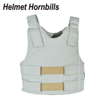 Helmet Hornbills Wear inside Concealable Bulletproof Vest Body Armor Proof Vests Tactical Vest Ballistic Vest Waistcoat