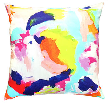The Pink Martini Throw Pillow