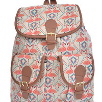 Couple Flamingo Backpack - FINAL SALE